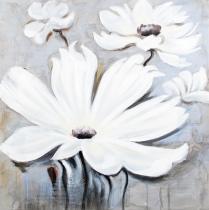 obrazy, reprodukce, Biele kvety