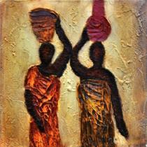 obrazy, reprodukce, Africké ženy