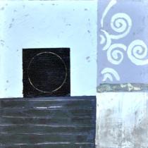 obrazy, reprodukce, Modrý abstrakt 2