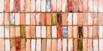 obrazy, reprodukce, Oranžová mozaika