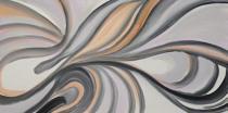 obrazy, reprodukce, Vlnitý abstrakt