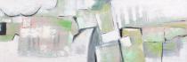 obrazy, reprodukce, Zelený abstrakt