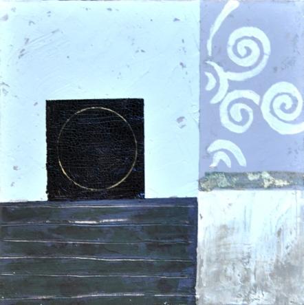obraz Modrý abstrakt 2