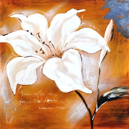 obraz Bílá lilie 2