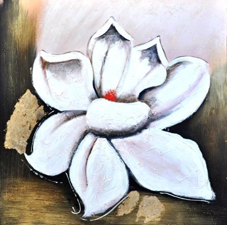obraz Bílý květ 2