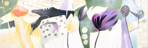 obraz Květinový abstrakt