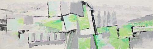 obraz Zelený abstrakt