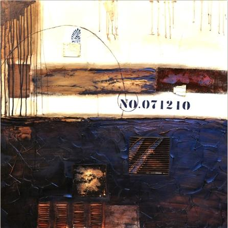 obraz Abstrakt hnědý
