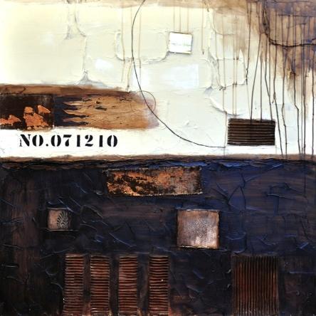 obraz Abstrakt hnědý 2