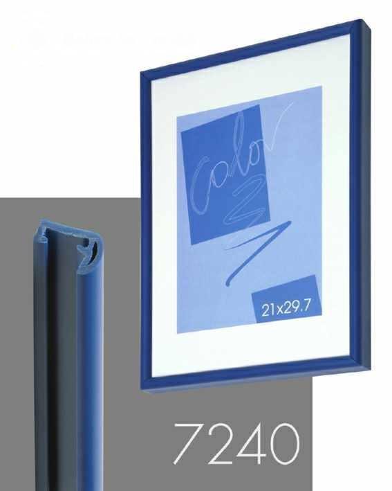 obraz Rám na plakát - modrá