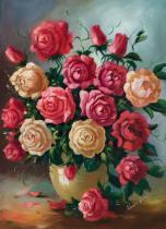obrazy, reprodukce, Růže pro Martu