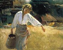 bestseler: Dievča s džbánom