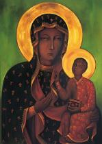 obrazy, reprodukce, Matka Božia