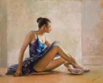 obrazy, reprodukce, Baletka. Granátová