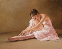 obrazy, reprodukce, Baletka. Odpočinek