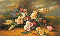 obrazy, reprodukce, Ruže