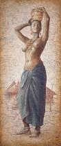 obrazy, reprodukce, African girl IV