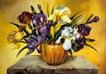 obrazy, reprodukce, Irisom - kosatca