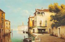 obrazy, reprodukce, Benátky I