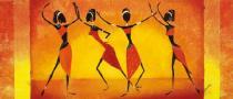 obrazy, reprodukce, Tancujúci dievčatá