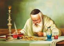 obrazy, reprodukce, Žid s toliare