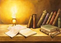 bestseler: Zátišie s knihama