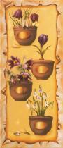 obrazy, reprodukce, Štyri ročné obdobia - jar - jaro