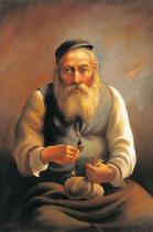 obrazy, reprodukce, Žid III