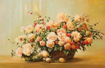 obrazy, reprodukce, Růže II