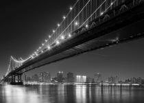 obrazy, reprodukce, Manhattan, Brooklyn bridge 1