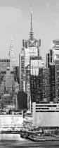 obrazy, reprodukce, Midtown skyline across hudson river (vertical)