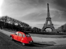 obraz Paříž a Eiffelova věž