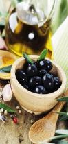 obrazy, reprodukce, Černé olivy