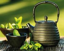 obrazy, reprodukce, Mátový čaj