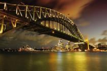 obrazy, reprodukce, Most nad řekou 7