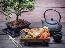 obrazy, reprodukce, Sushi 1