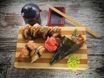obrazy, reprodukce, Sushi 2