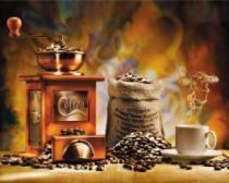 obrazy, reprodukce, Vůně kávy
