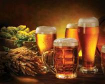obrazy, reprodukce, Pivo