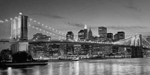 obraz Brooklyn bridge and east river
