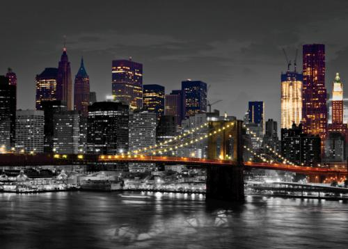 obraz New York pont de Brooklyn