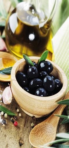 obraz Černé olivy