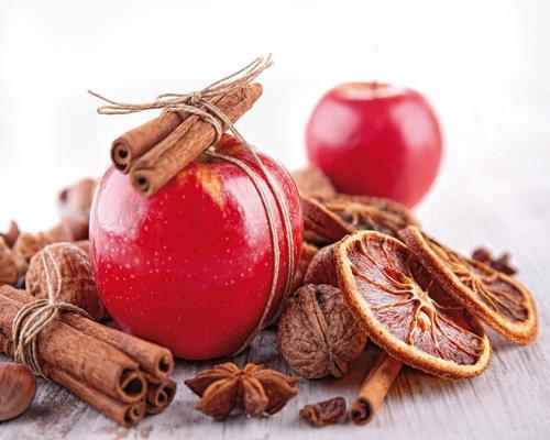 obraz Jablka a koření