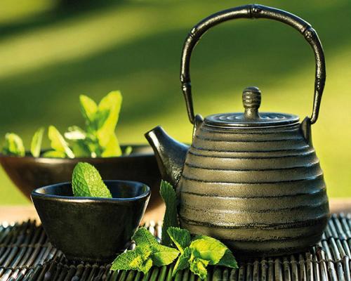 obraz Mátový čaj
