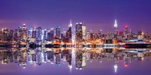 obraz Město v noci