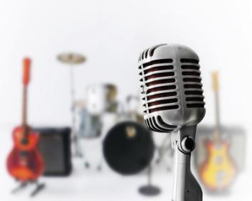 obraz Mikrofon