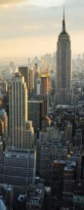 obraz New York City skyline (vertical)