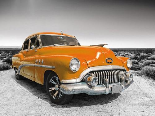 obraz Old American car 12