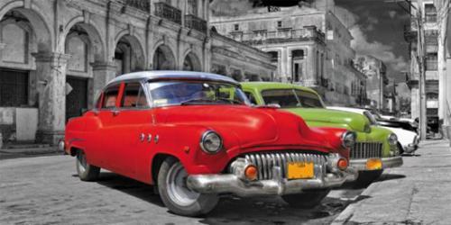 obraz Old American cars