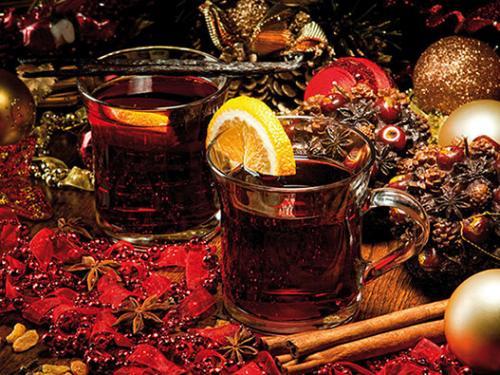 obraz Vánoční svařené víno